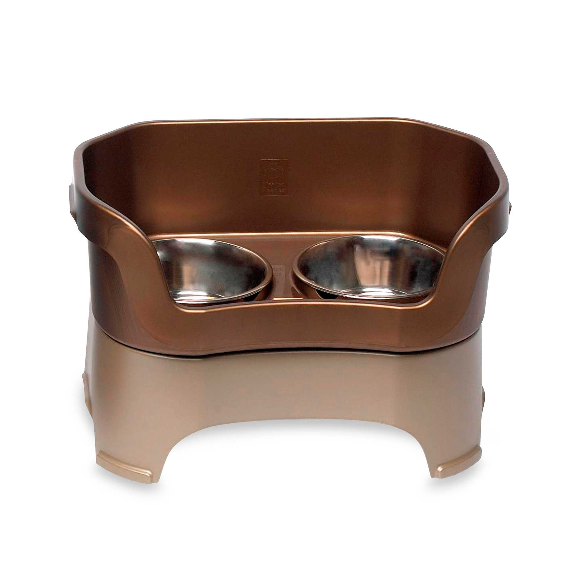 Neater Feeder Bronze Mess-Proof Large Pet Bowl