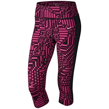 cfb51ef5e84 Nike Womens Epic Lux Printed Running Capris Pants (X-Large
