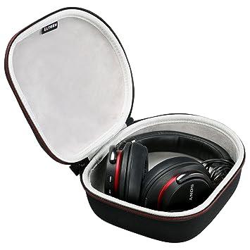 LTGEM Duro Auriculares Caso Viajar Bolsa para Sony, Audio-Technica,Xo Vision,Behringer,Beats, Photive, Philips, Bose, Maxell, Panasonic and More-Negro: ...