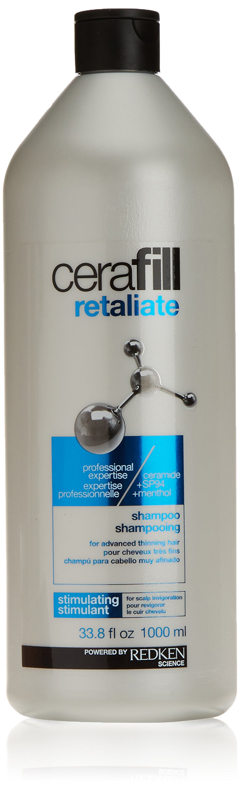 Redken Cerafill Retaliate Stimulating Shampoo (For Advanced Thinning Hair) 1000 Ml 33.8 Fl Ounce by REDKEN