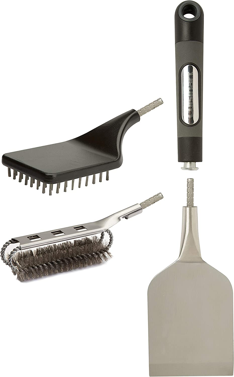 Cuisinart CGWM-058 Multi-Use Cleaning System 3-Piece Grill Brush