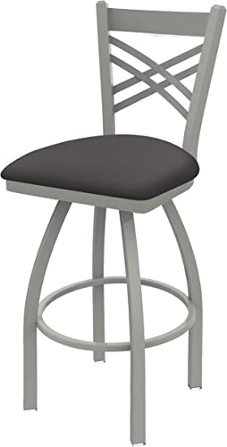 Holland Bar Stool Co. 82036ANALMdGr 820 Catalina Bar Stool, 36 Seat Height, Canter Storm