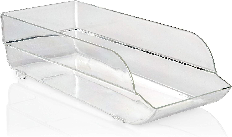 Copco Clear Plastic Can Bin, 14-inch
