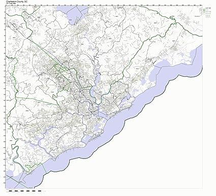 Charleston Sc Zip Code Map on