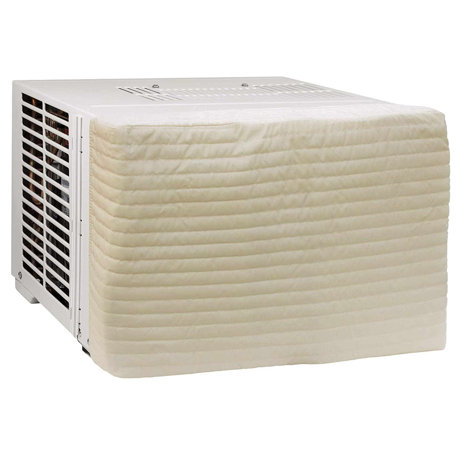 HomeCrate Quilted Indoor Air Conditioner Cover, Double Insulation, Small IAC-SML-10528
