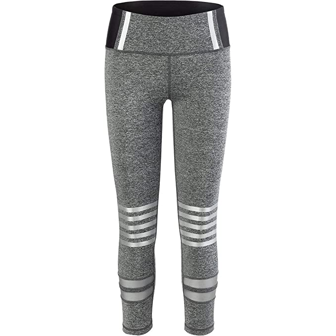 6ac4b0bc4be22e C&C California Metallic Stripe Legging - Women's at Amazon Women's ...