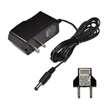 HQRP AC Adapter compatible with Golds Gym Stride Trainer 380 Elliptical GGEL62808 GGEL628080 GGEL628081 Power Supply