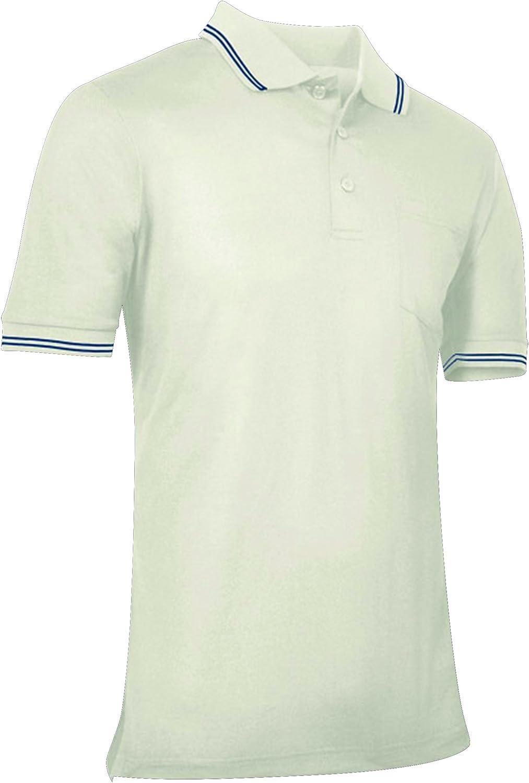 CHAMPRO Umpire Polo Shirt; Adult Cream