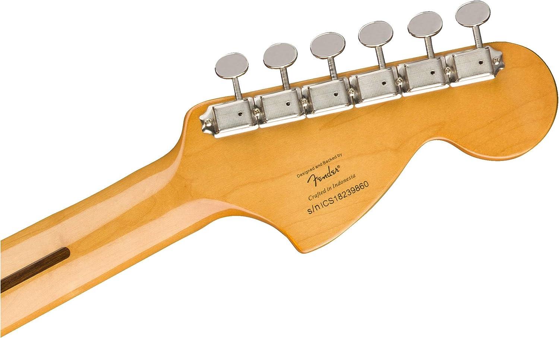 Fender - Guitarra eléctrica Squier Classic Vibe Stratocaster, estilo años 70: Amazon.es: Electrónica