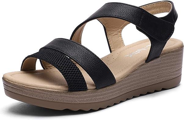 Amazon.com | CINAK Women Wedge Sandals