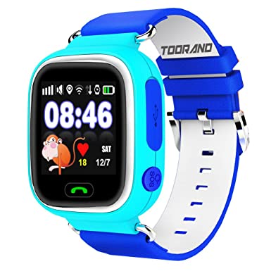 Toorand Smart Watch GPS Tracker with Phone Call miSafes