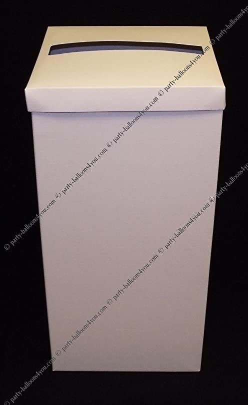 Wedding Cards Post Mail Receiving Box Wishing Well in Soft White – Wedding Card Receiving Box