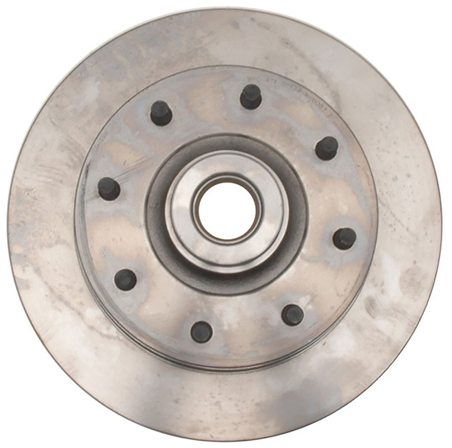 ACDelco 18A256A Advantage Non-Coated Front Disc Brake Rotor and Hub Assembly