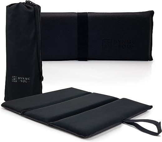 Premium Sitzkissen Outdoor – Exzellente Polsterung, Große Sitzfläche, Wasserabweisend – Langlebige Isomatte Outdoor inkl. hochwertiger Tasche -…
