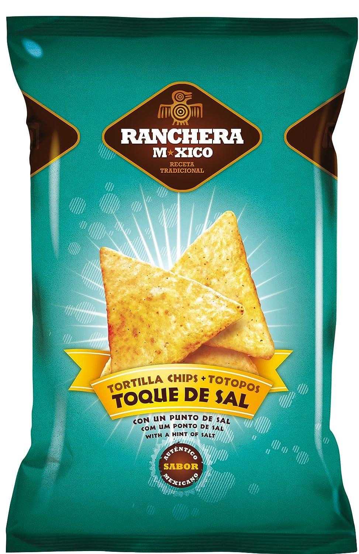 Ranchera M-Xico Nachos Totopos - 200 gr - [Pack de 5]: Amazon.es: Alimentación y bebidas