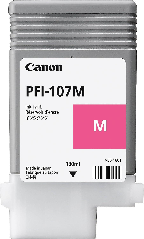 Canon Pfi 107m Tinte Magenta Standardkapazitã T 130ml 1er Pack Bürobedarf Schreibwaren