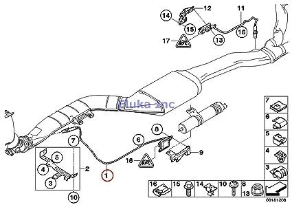 Amazon Com Bmw Genuine Fuel Injection Sensor For Nox L915mm X5 3 5