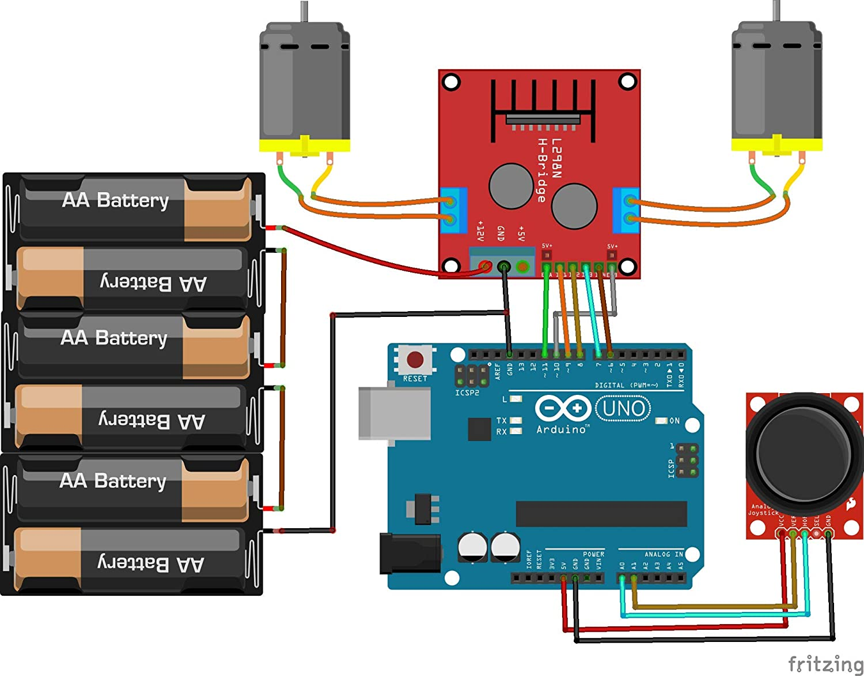 L298N DC Stepper Motor Driver Module Dual H Bridge Control Board for Arduino AA