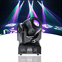 ZKYMZL Moving 30W DJ Stage Lights with 15 Colors