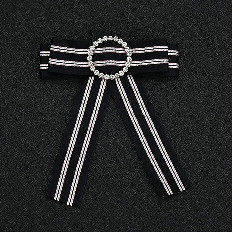 Tcaijing Broches para Ropa Mujer Colegio Viento Bow Tie en Set con ...
