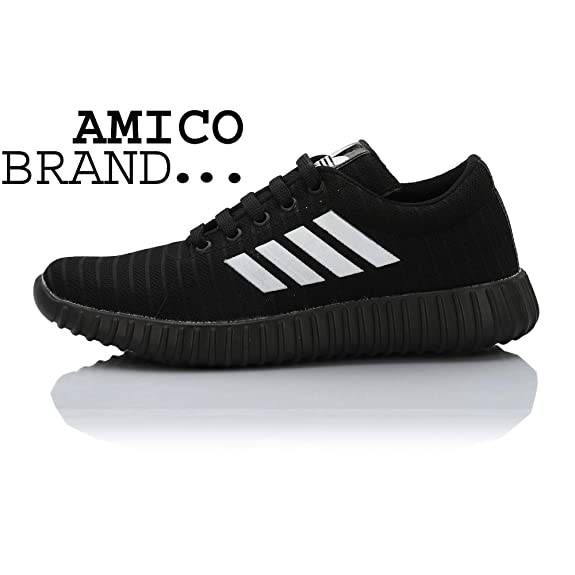 25041872c6 Amico Men's Black Casual Shoes: Buy Online at Low Prices in India -  Amazon.in