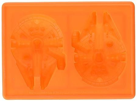STAMPO IN SILICONE TRAY GHIACCIO DOLCI Star Wars Millennium Falcon e X-Wing