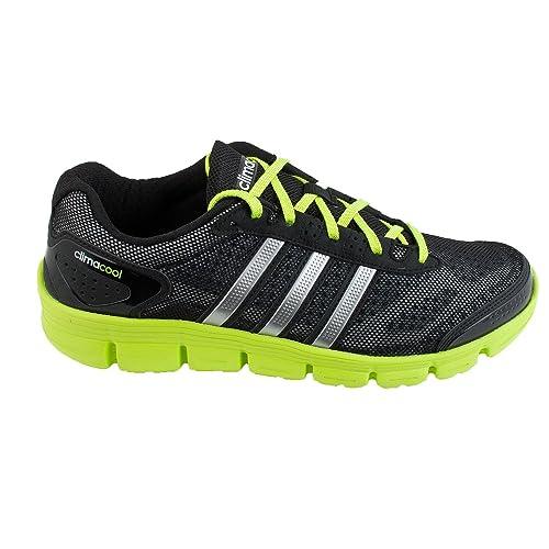 adidas D66261 - Zapatillas de Running de competición de Tela Hombre, Color Negro, Talla