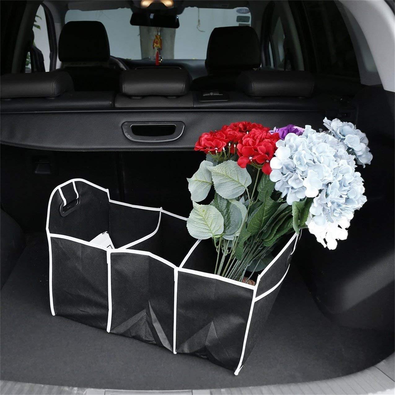 pieghevole pieghevole robusto robusto Car Storage Box Car Boot Organizer Shopping ordinato pieghevole salvaspazio scatola di immagazzinaggio Car Boot Organizer