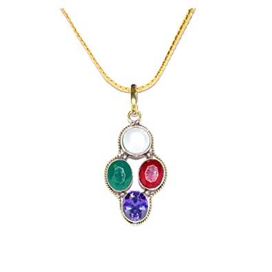 Buy RUDRADIVINE Multicolour Non Precious Metal Tula Rashi
