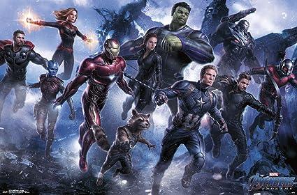 Amazon Com Trends International Avengers Endgame Legendary Wall