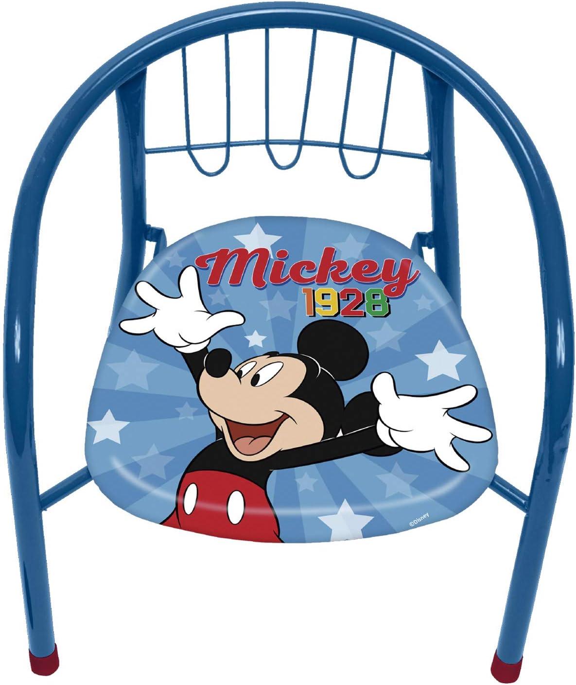 Silla de Metal de 35.5x30x33.5cm de Disney-Mickey