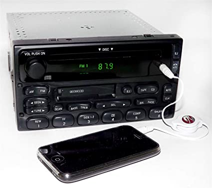 amazon com: 1 factory radio am fm cd cassette player compatible with  1999-10 ford ranger xl2f-18c868-ab: car electronics