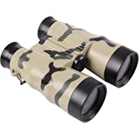 Binoculars for Kids High Resolution Shock Proof Toy Binoculars for Kids with Compass Birthday Gift for 4-12 Year Old Boys and Girls