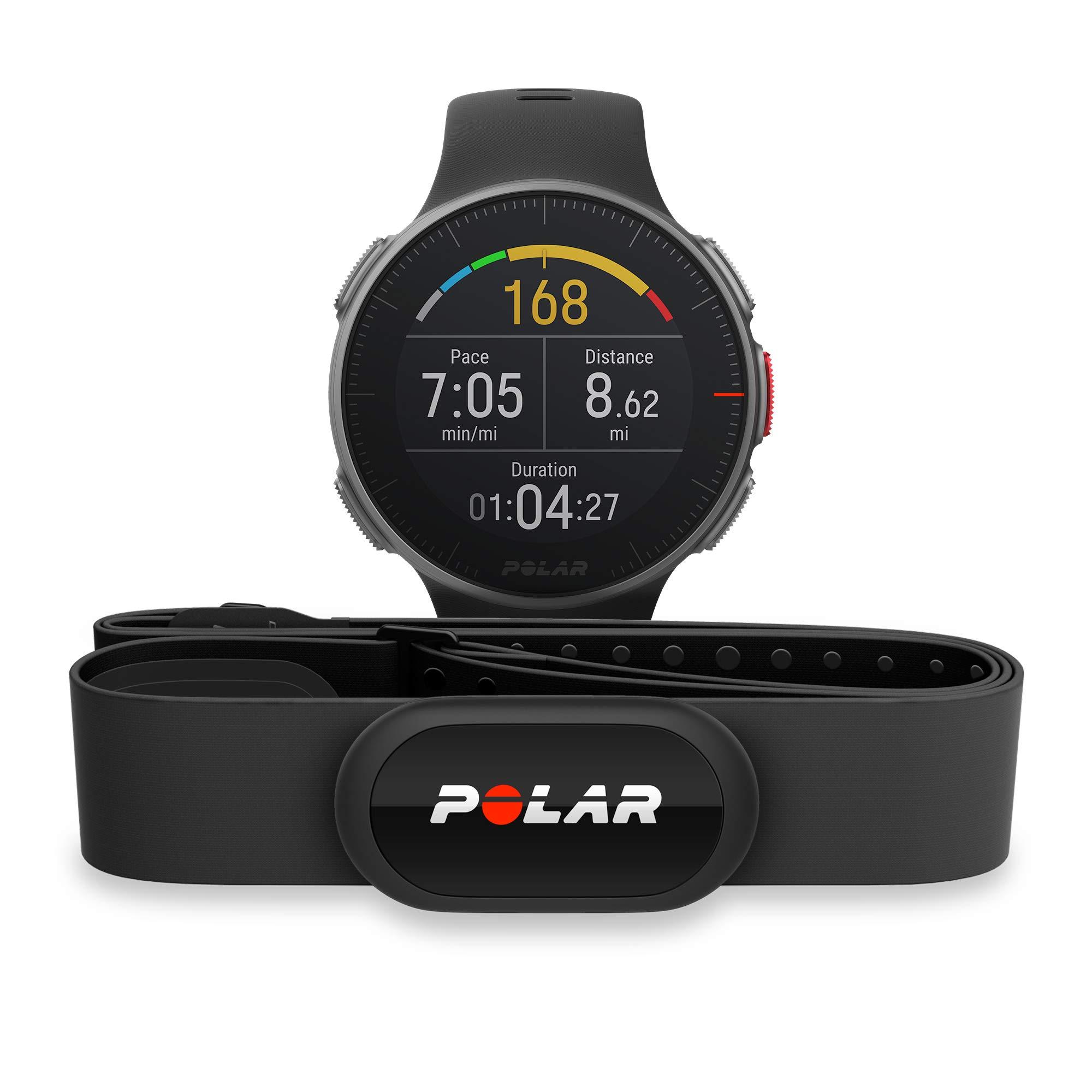 Polar Vantage V Pro Multisport Watch W/ HR Black by Polar