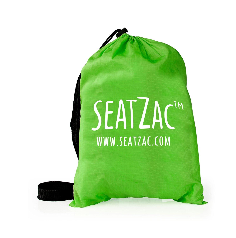 SeatZac SZ00004 Verde Interior y Exterior Rectángulo Silla Puff - Sillas Puff (Verde, Poliéster, Interior y Exterior, Rectángulo, 100 kg): Amazon.es: Hogar