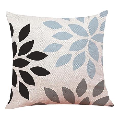 Fundas De Cojines, ❤️Xinantime Decoración del hogar Fundas de colchón Funda de almohada geométrica simple 45cm x 45cm (❤️G)