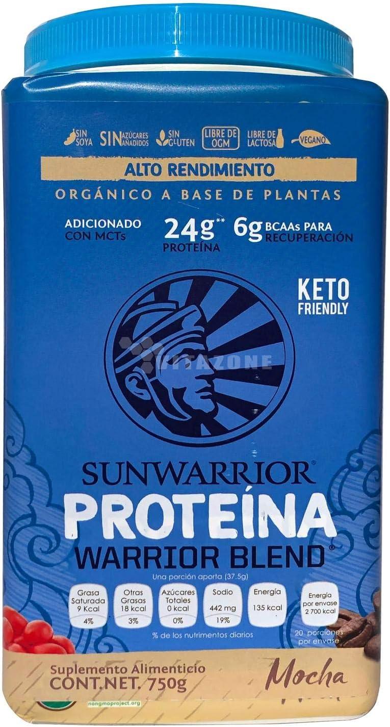 Sunwarrior Warrior Blend Mocha - 750 gr