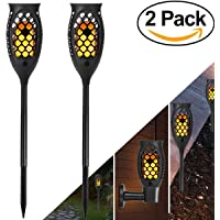 2-Pack Solar Lights Outdoor with 99 LED Solar Light