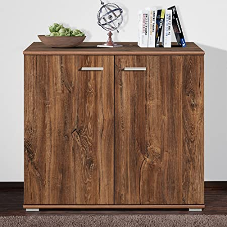 Csschmal Sideboard Mit 2 Turen Stirling Eiche Highboard Kommode