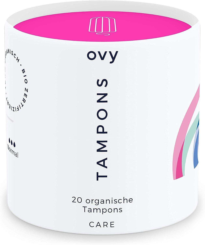 ovy® tampones | 100% algodón orgánico Certificado | 0% productos ...