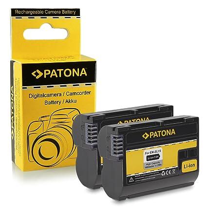 2x Batería EN-EL15 para Nikon 1 V1: Amazon.es: Electrónica