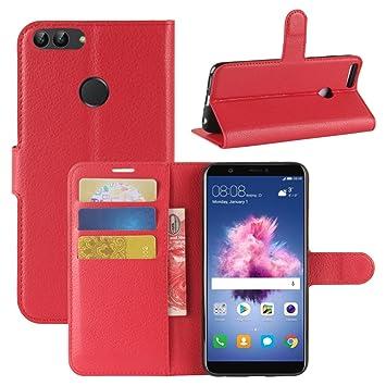 HualuBro Funda Huawei P Smart, Carcasa de Protectora Cuero ...