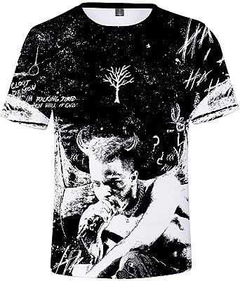 e86fd52e4 Imilan Unisex T-Shirt 3D Print Tee Short Sleeve Inspired by Xxxtentacion(Height  150
