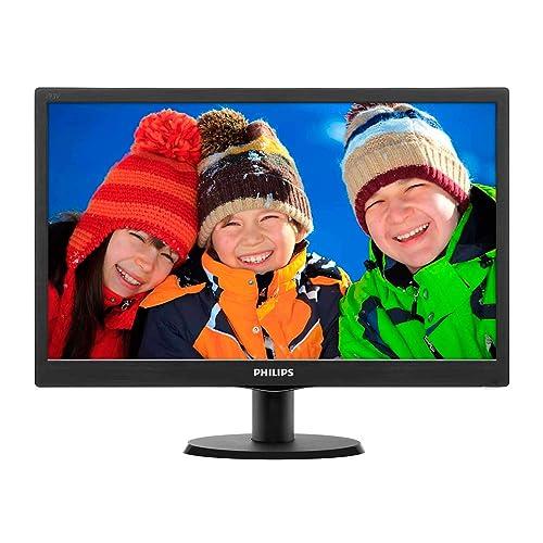 Philips 193V5LSB2 10 Monitor de 18 5 resolución 1366 x 768 Pixels tecnología WLED Contraste 700 1 5 ms VESA VGA sin Altavoces
