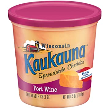Image result for kaukauna port wine cheese spread