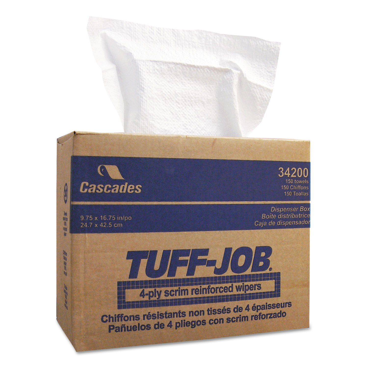Amazon.com: CSD34200 - Tuff-Job Scrim Reinforced Wipers: Health & Personal Care