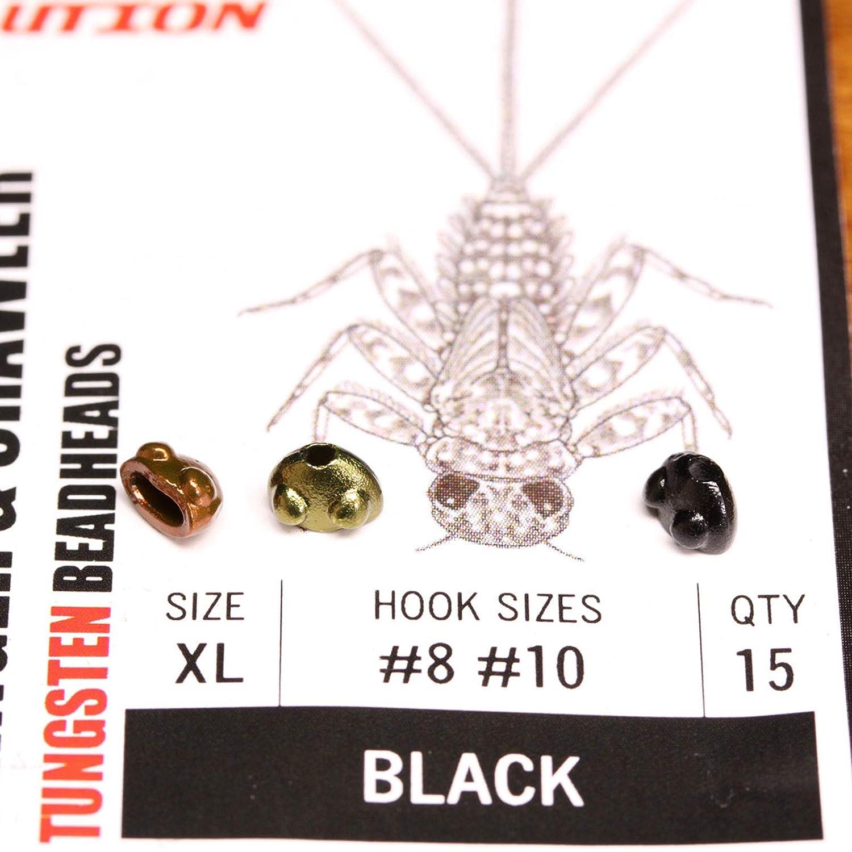 Evolution Beadheads – Mayfly Cling /クロール – ブラックMedium   B01ETAXUP8