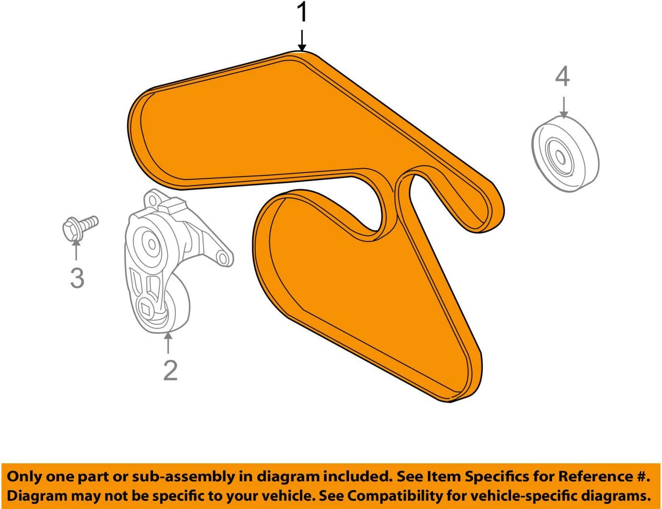 ACDelco 12637352 GM Original Equipment Accessory Drive Belt