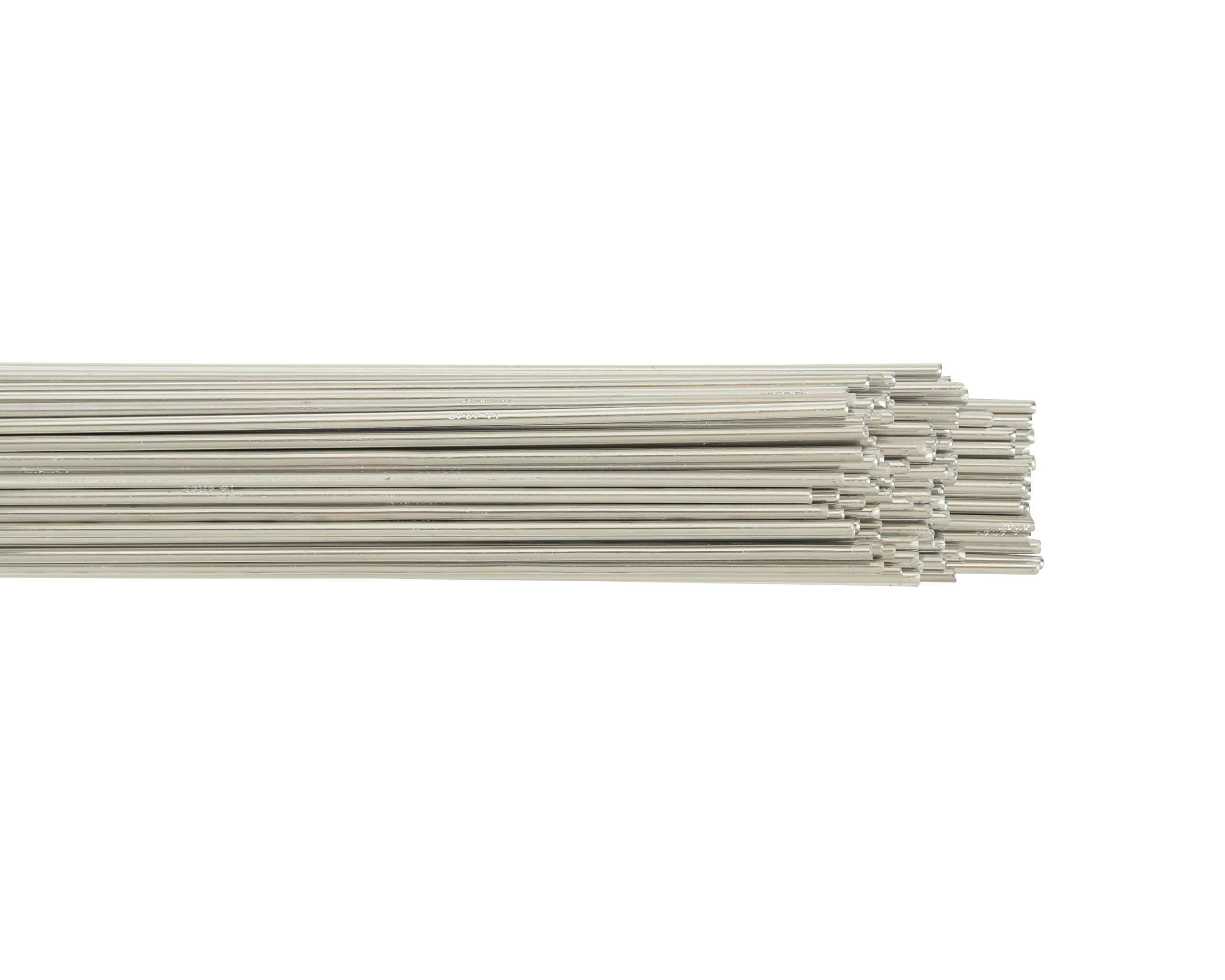 Harris 0404380 4043 Aluminum TIG Welding Rod, 3/16'' x 36'' x 10 lb. Box
