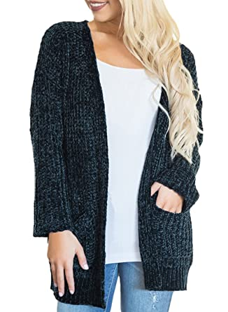 0c5dc2611 Dearlove Women s Super Cozy Open Front Knitted Cardigans Sweater ...